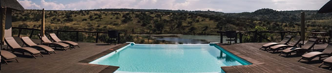 Swimming Pool at Liosn Valley Lodge