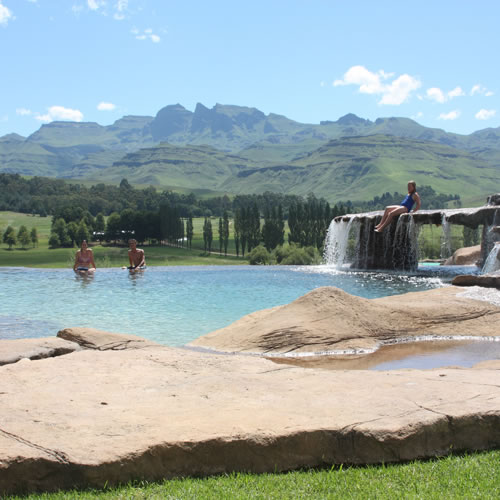 Drakensberg Self Catering And Resort Accommodation At Bushmans Nek Berg And Trout Resort