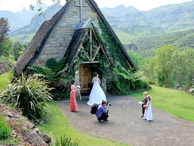 Drakensberg Mountains Features Hotel Accommodation At