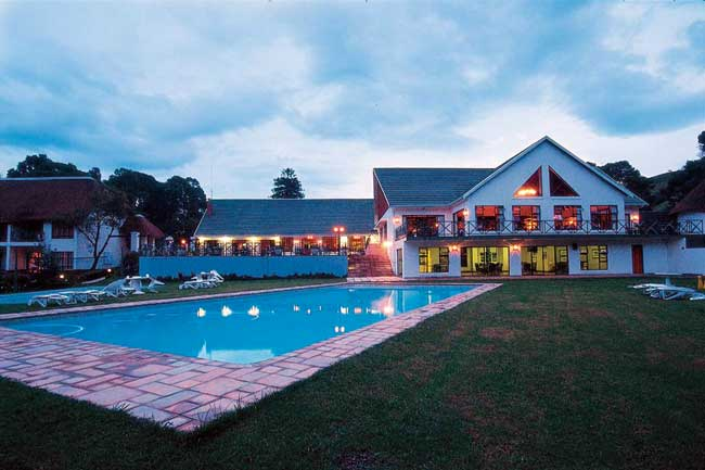 Drakensberg Mountains Features Champagne Castle A